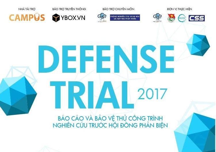 Ngày 7/4: Chung kết cuộc thi DEFENSE TRIAL 2017