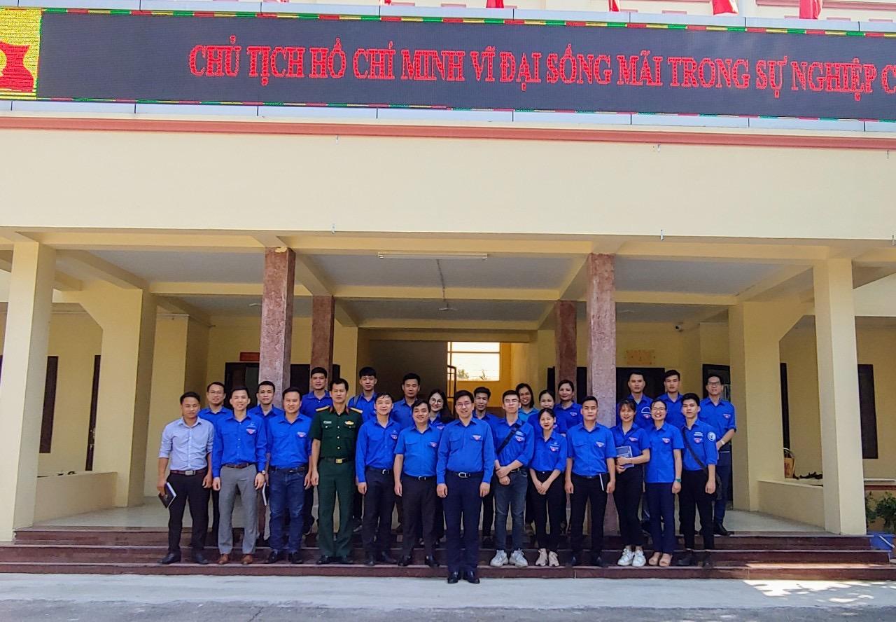 Chuyến đi tình nguyện Khảo sát địa bàn triển khai Chương trình Mùa hè xanh 2020 tại xã Tòng Bạt, huyện Ba Vì, TP Hà Nội