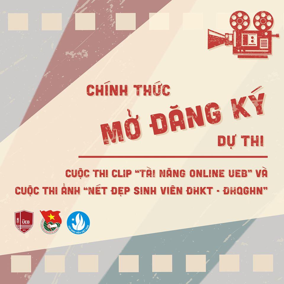 """Cuộc thi video clip """"Tài năng UEB online"""""""