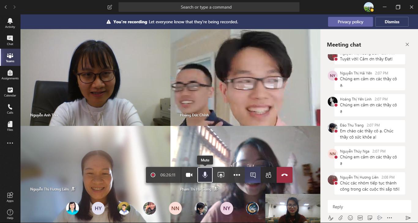 Hội nghị NCKH sinh viên năm học 2019 - 2020 diễn ra thành công với hình thức trực tuyến