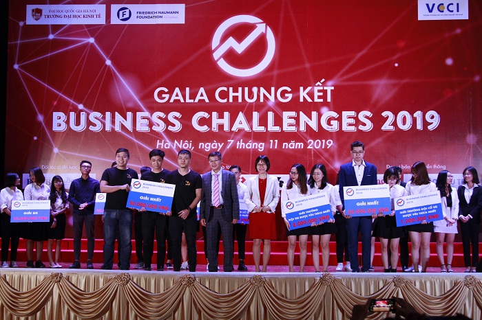 Gala chung kết cuộc thi Business Challenges 2019