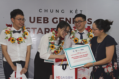 KiwiKid xuất sắc giành ngôi quán quân tại UEB Genesis Start-up 2017