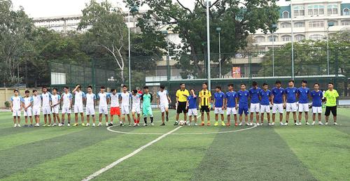 Đội tuyển bóng đá Trường ĐHKT đạt Giải 3 tại Giải bóng đá sinh viên ĐHQGHN 2016