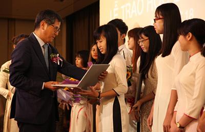 6 sinh viên ĐHKT nhận Học bổng Lotte năm học 2016 - 2017