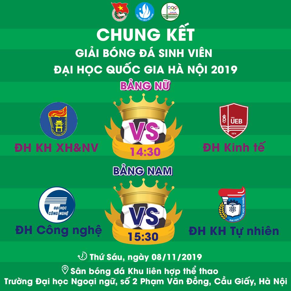 Chung kết VNU Cup 2019 - Những cô gái Vàng của UEB